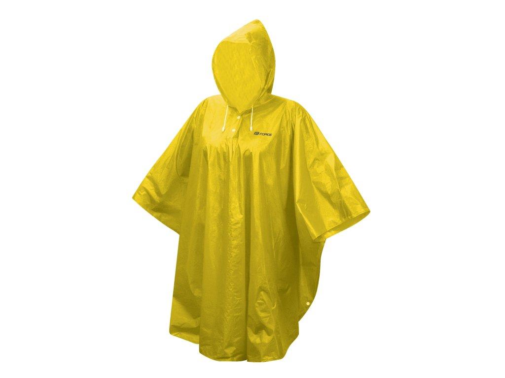 poncho Force nepromokavé, žluté