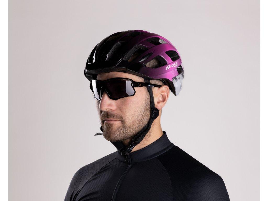Cyklistické brýle Force EDIE, černé