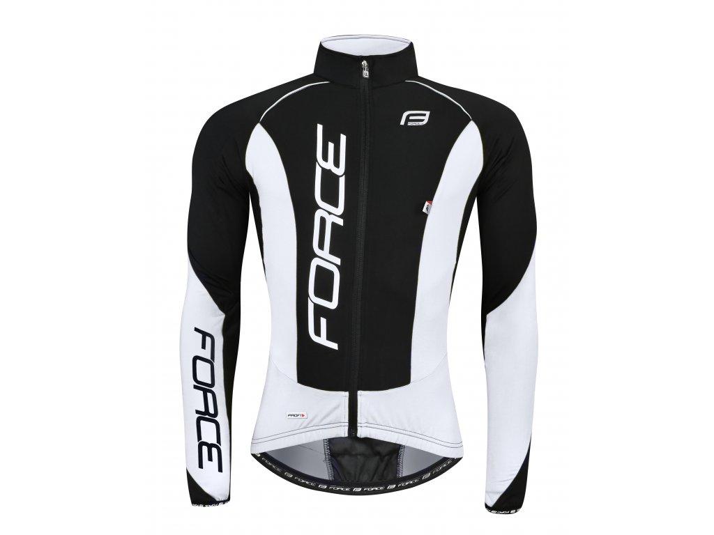bunda/dres Force dlouhý rukáv X68 PRO, černo-bílá