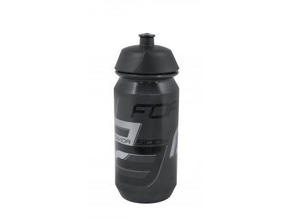 Láhev Force SAVIOR 0,5 l, transparentní černá-šedá