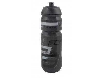 Láhev Force SAVIOR 0,75 l,transparentní černá-šedá