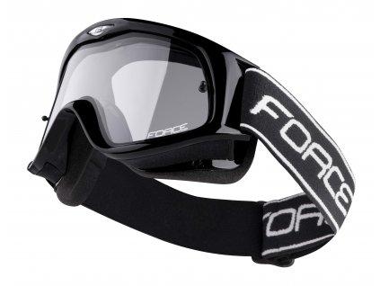Sjezdové brýle Force CYKLO DOWNHILL, černé