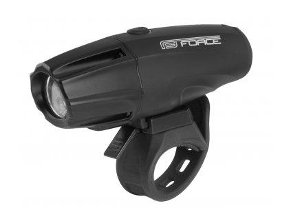 Světlo přední Force SHARK 700LM USB, černé