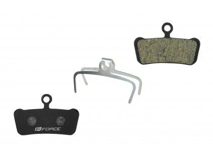 Destičky brzdové Force AVID Trail E-Bike polymer