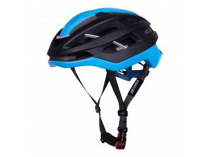 Cyklistická přilba Force LYNX, černá mat-modrá