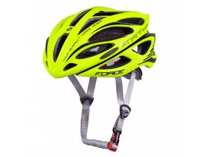 Cyklistická přilba Force SCORPIO, fluo