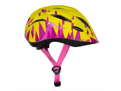 Dětská cyklistická helma Force ANT, fluo-růžová