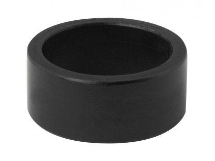 """Podložka 1 1/8"""" AHEAD 15 mm Al, černá"""