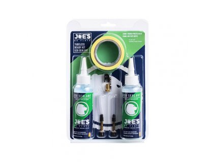 JOE´S bezdušový set Tubeless Ready kit Eco Sealant 48/25mm