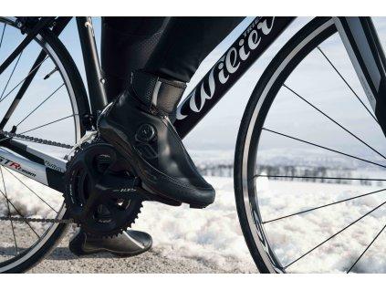 Zimní MTB cyklistické tretry Force ICE21, černé