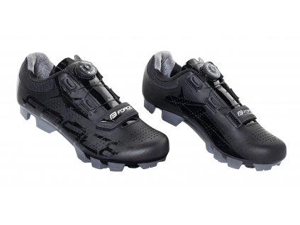 Cyklistické MTB tretry Force CRYSTAL21, černé