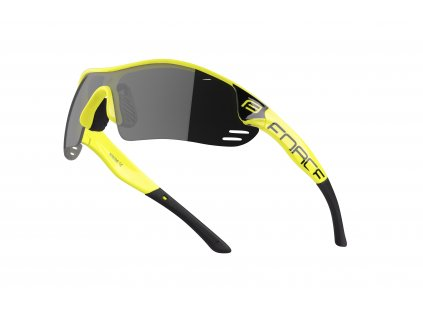 Brýle Force RACE PRO fluo, černá skla