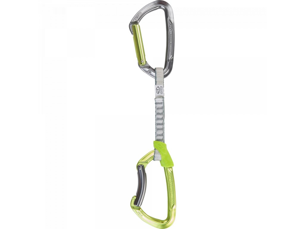 Climbing Technology Lime Set DY Green/Grey 12 cm