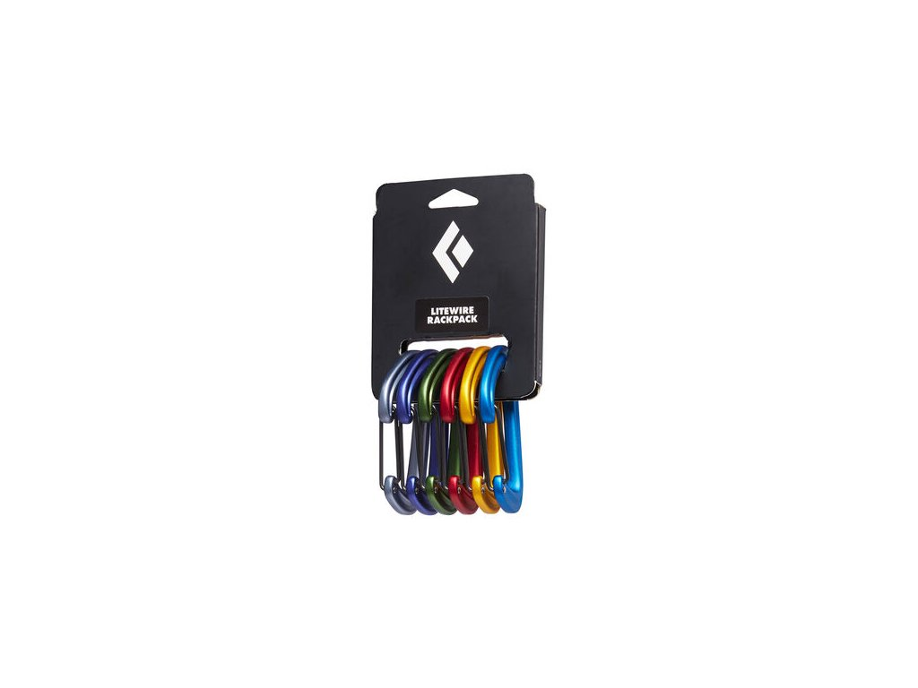 Black Diamond LiteWire Rackpack 6pcs