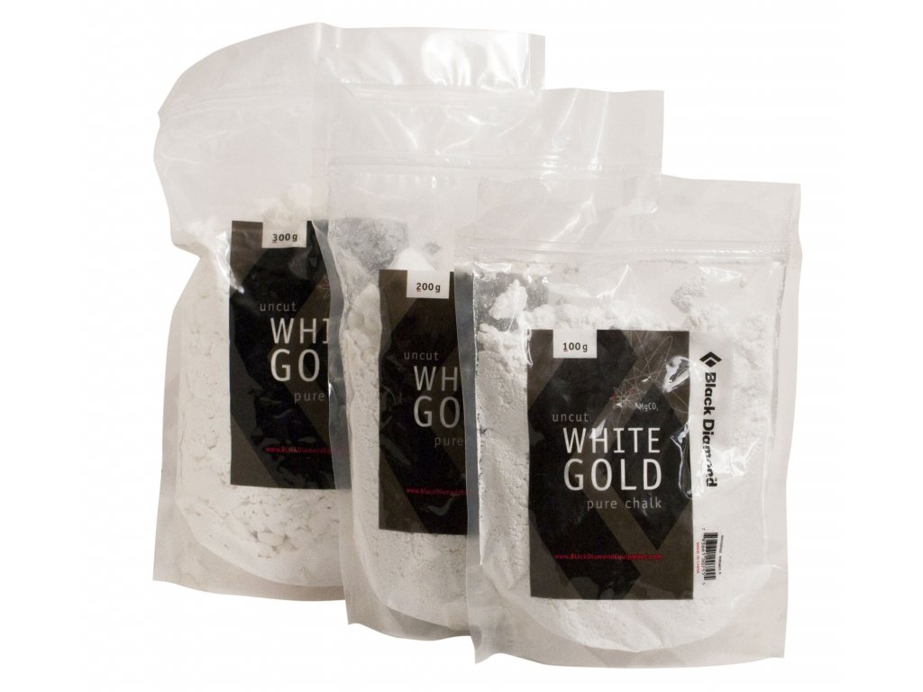 Black Diamond 200 g Loose White Gold Chalk