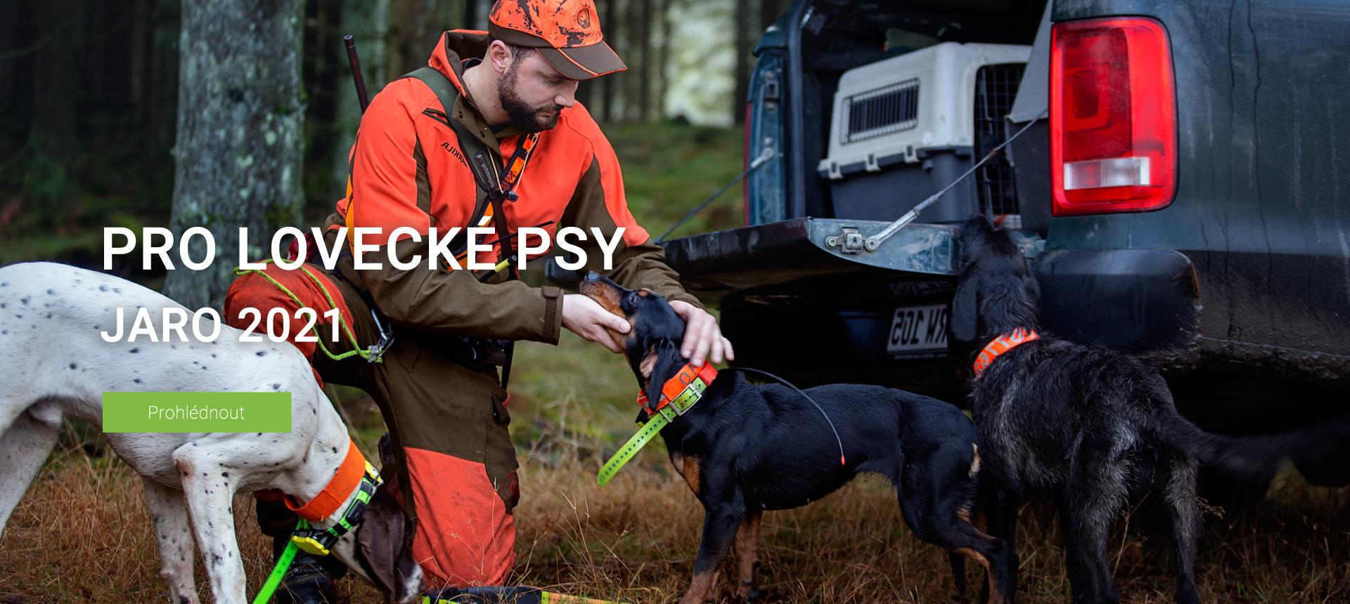 Pro lovecké psy J21