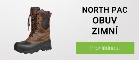 North Pac obuv zimní