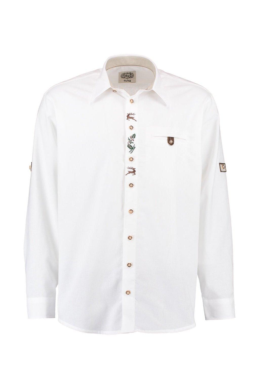 ORBIS - Košile pánská bílá REGULAR FIT (1913)