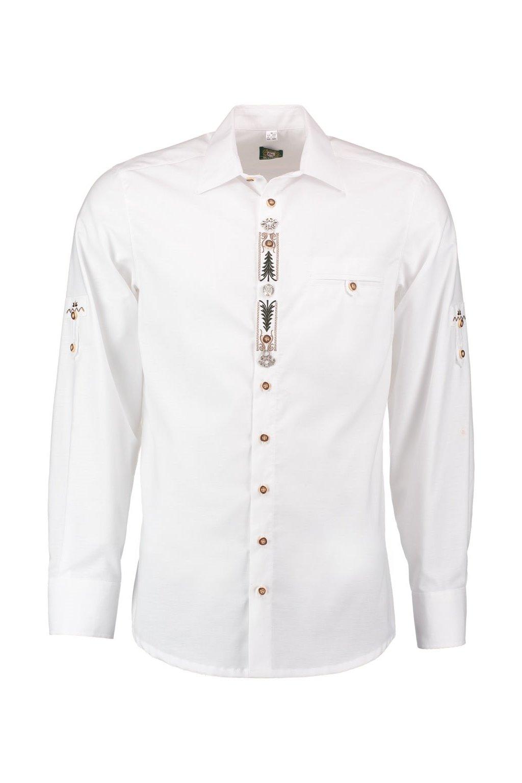 ORBIS - košile pánská bílá Slim Fit (18-2797)