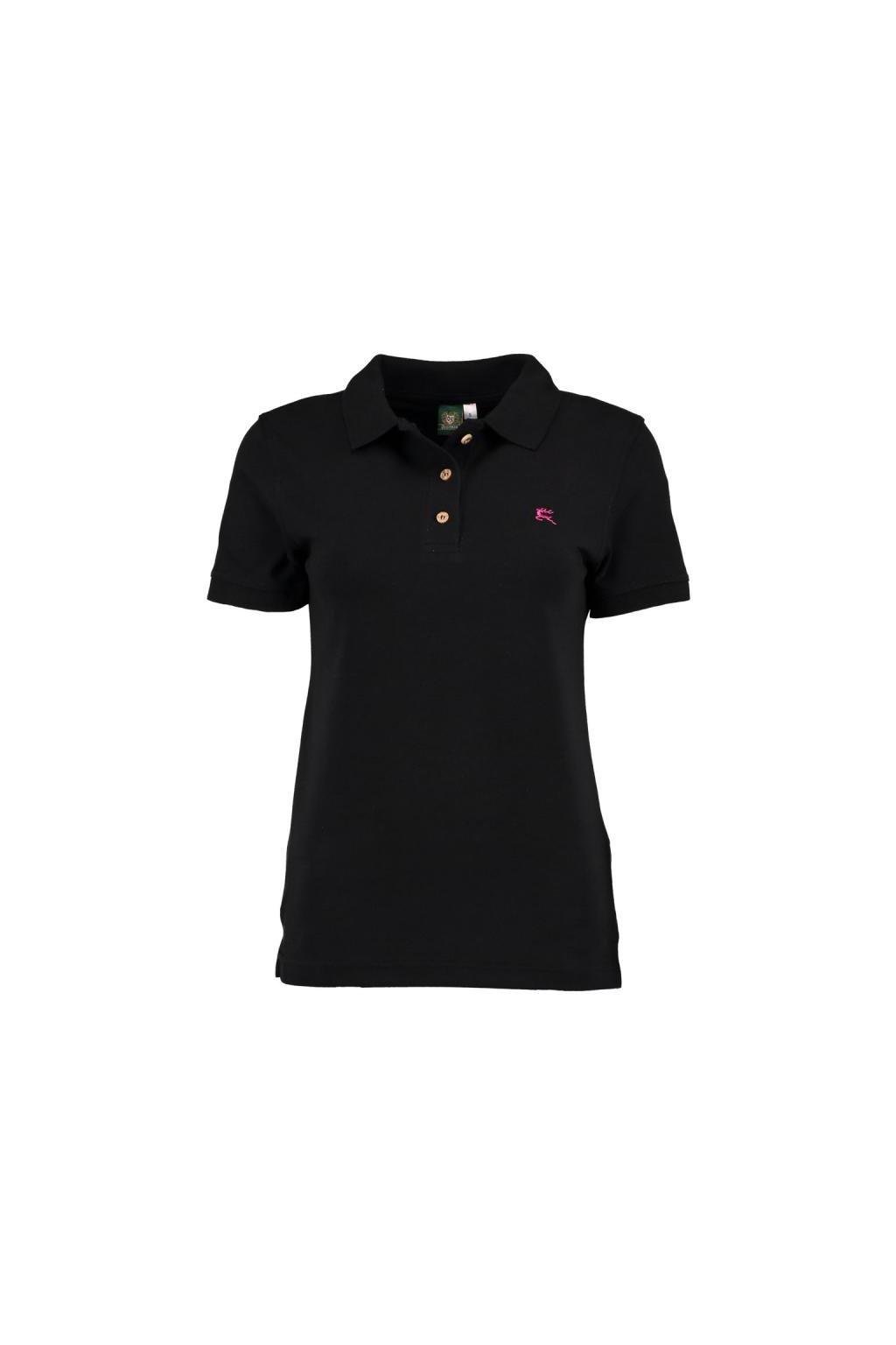 Orbis - polo triko dámské černé