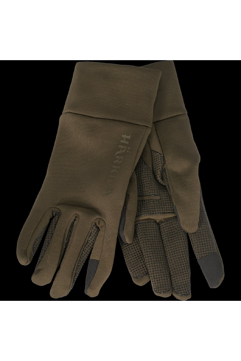 HÄRKILA - Power Stretch rukavice (Willow green)
