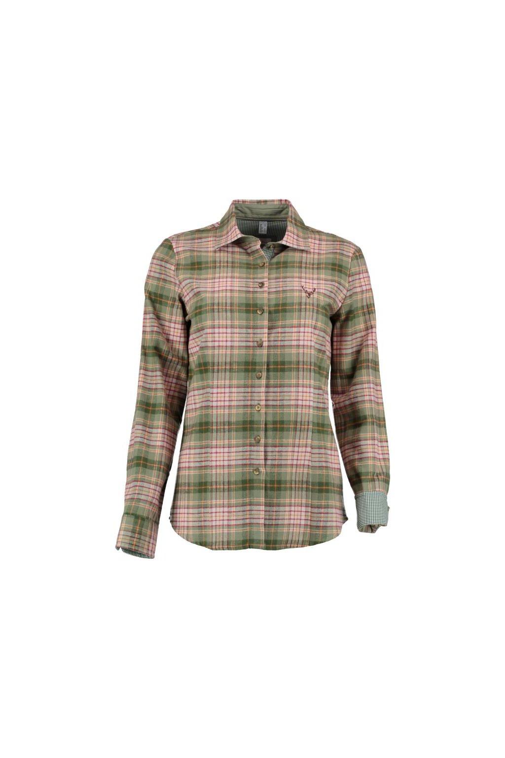 Orbis - košile dámská flanel s dlouhým rukávem (3870)