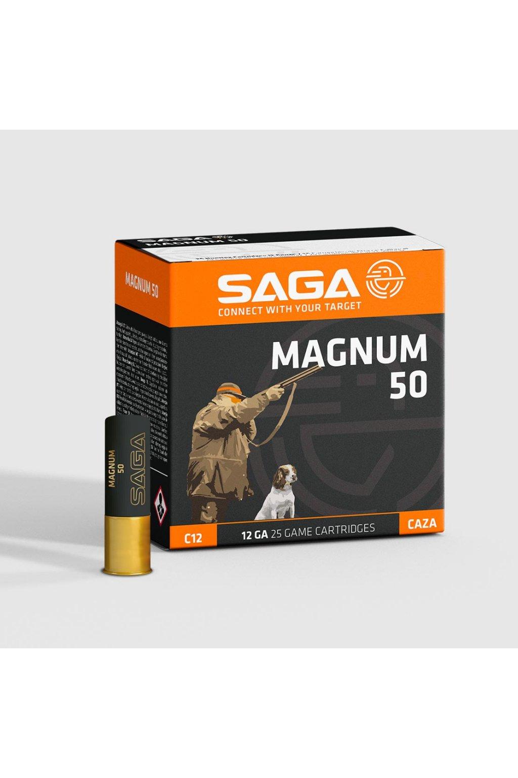 vyr 1840B0380030 Lovecky Brokovy Naboj Saga Magnum 50