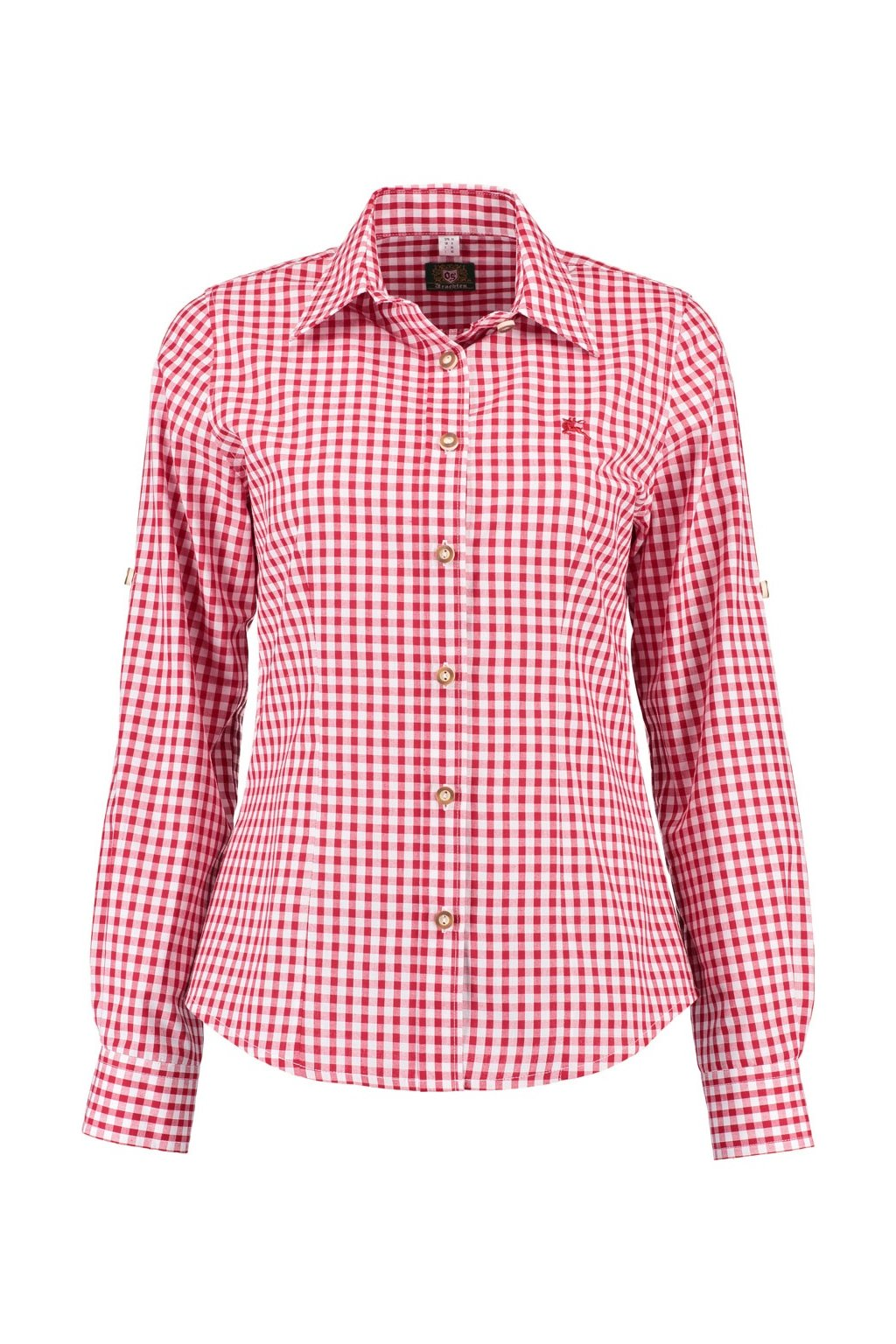 ORBIS - košile dámská červená zkr. rukáv (2602 34)