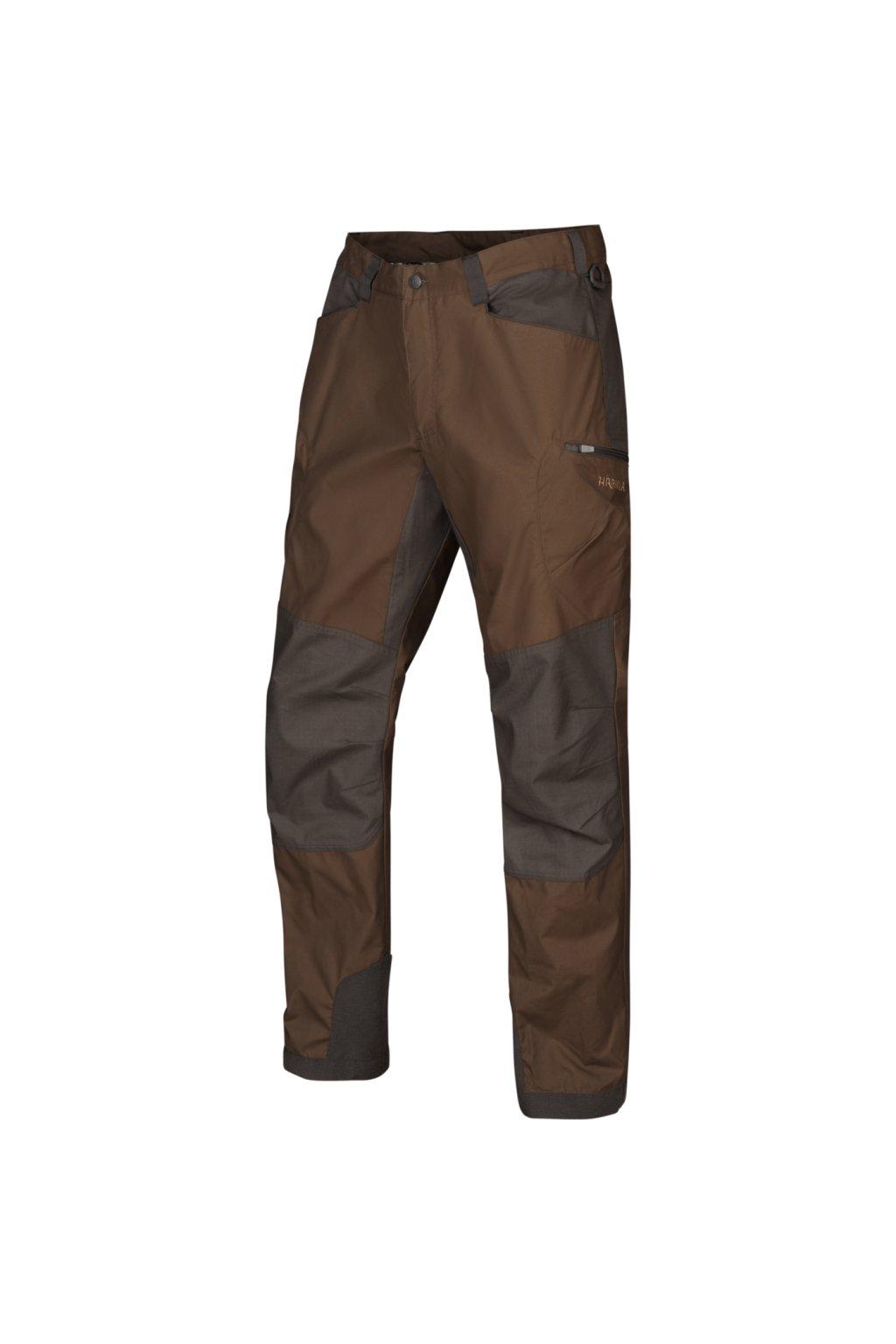 HÄRKILA - Hermod kalhoty pánské  State brown/Shadow grey
