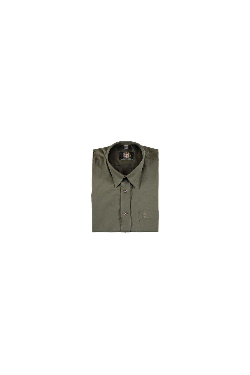 Orbis - košile pánská klasika zelená 0745