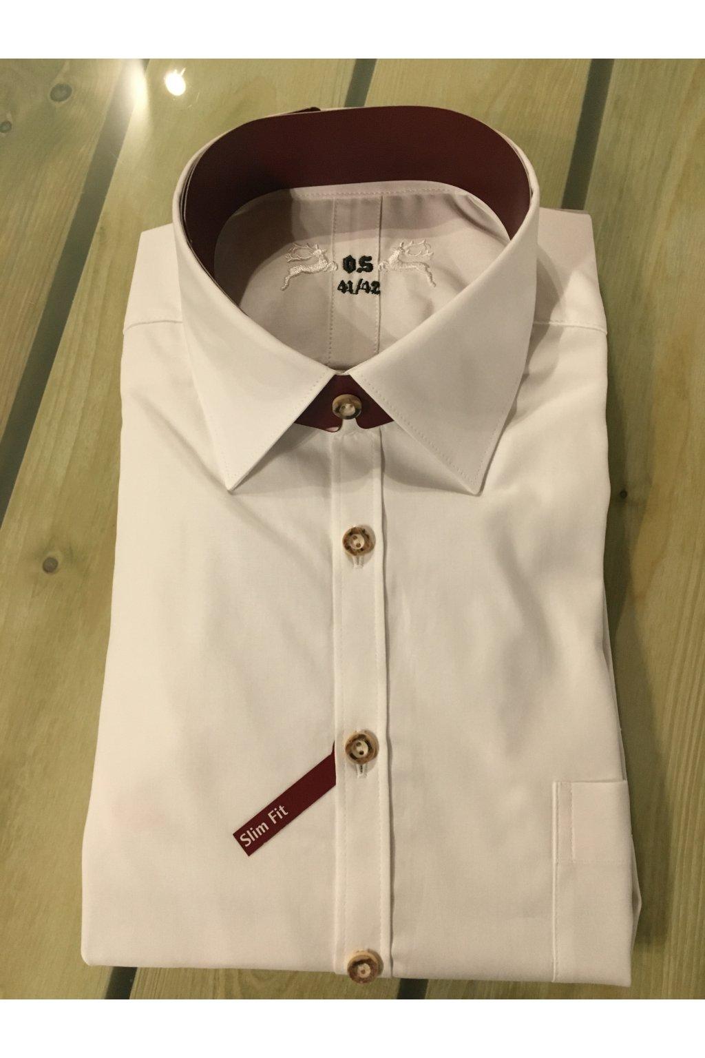 Košile pánská bi.Slim Fit 01
