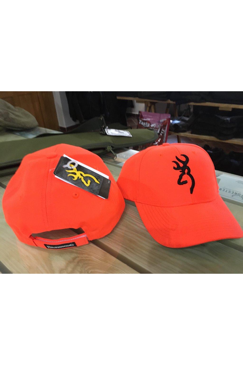 Browning  3D Safety  - kšiltovka oranžová
