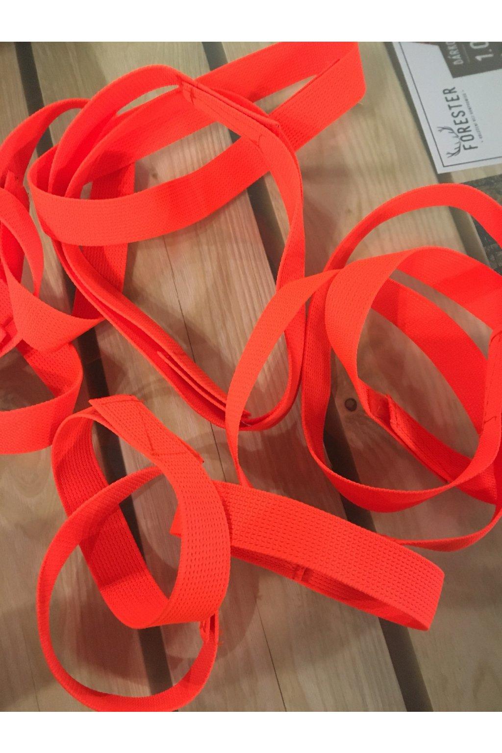 Reflexní obojek pro psy - oranžový