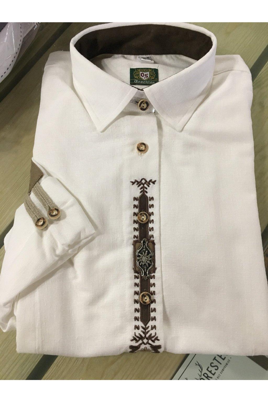 ORBIS - košile Protěž dámská bílá zdobená (1011)
