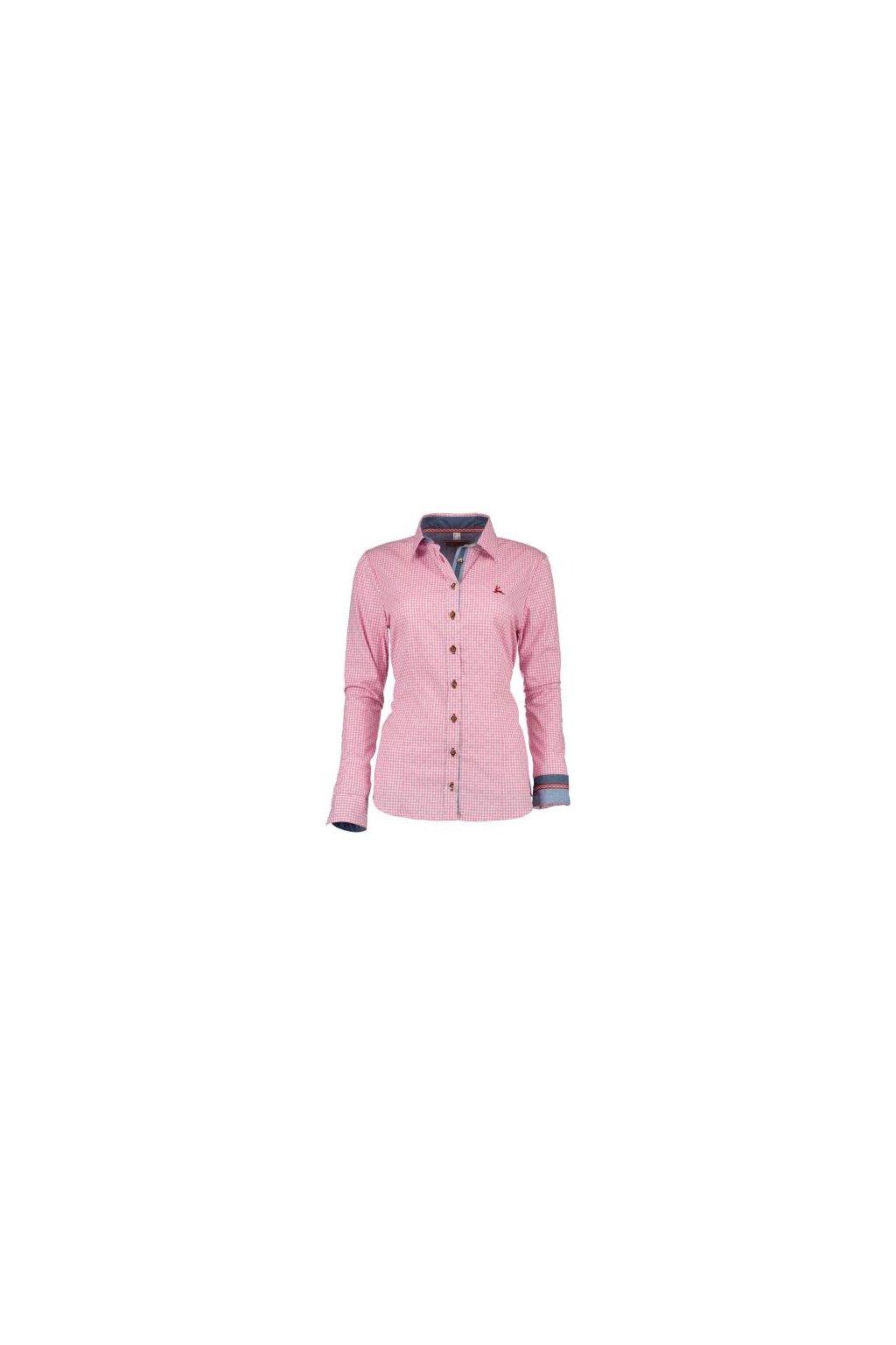 Košile dámská - růžová 3401
