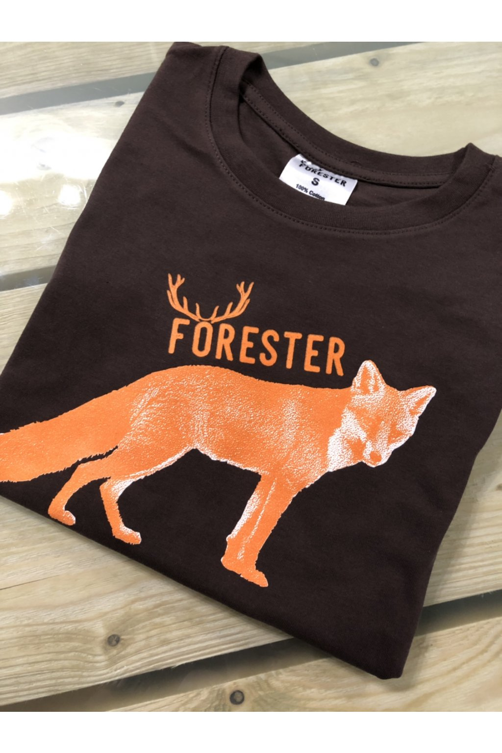 FORESTER - tričko dámské hn.liška