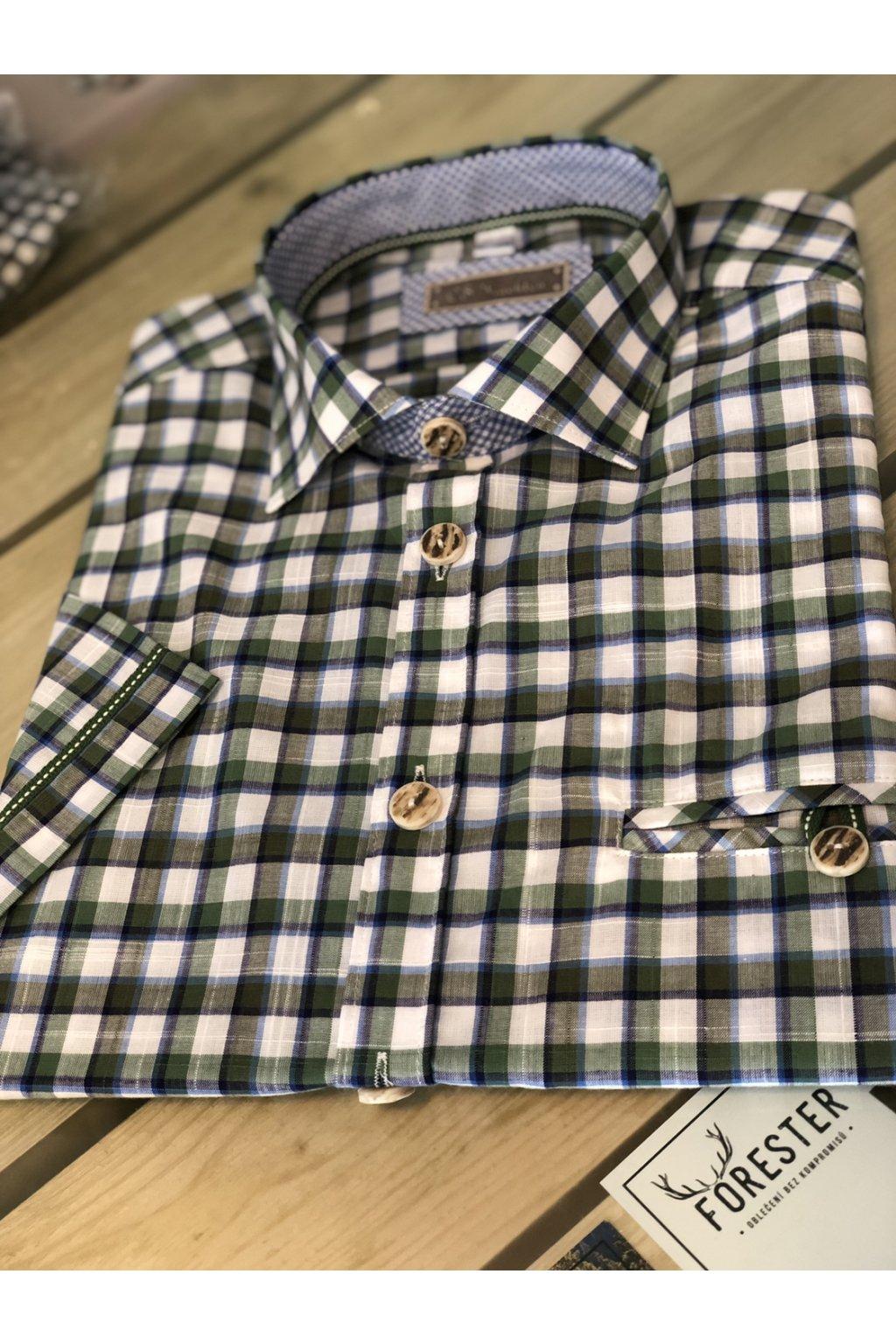 ORBIS - košile pánská letní s krátkým rukávem