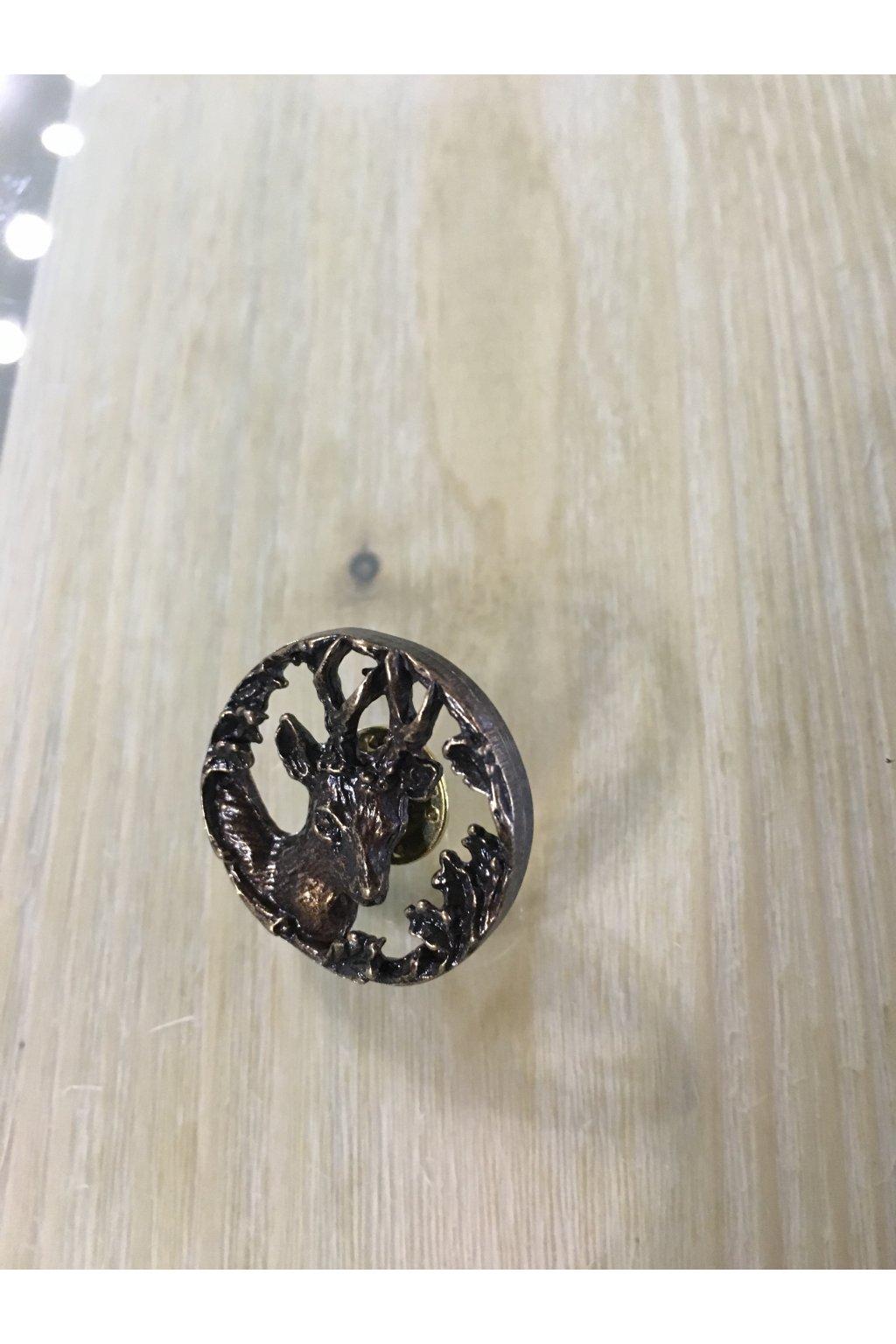 Odznak - srnec kruh stříbrný