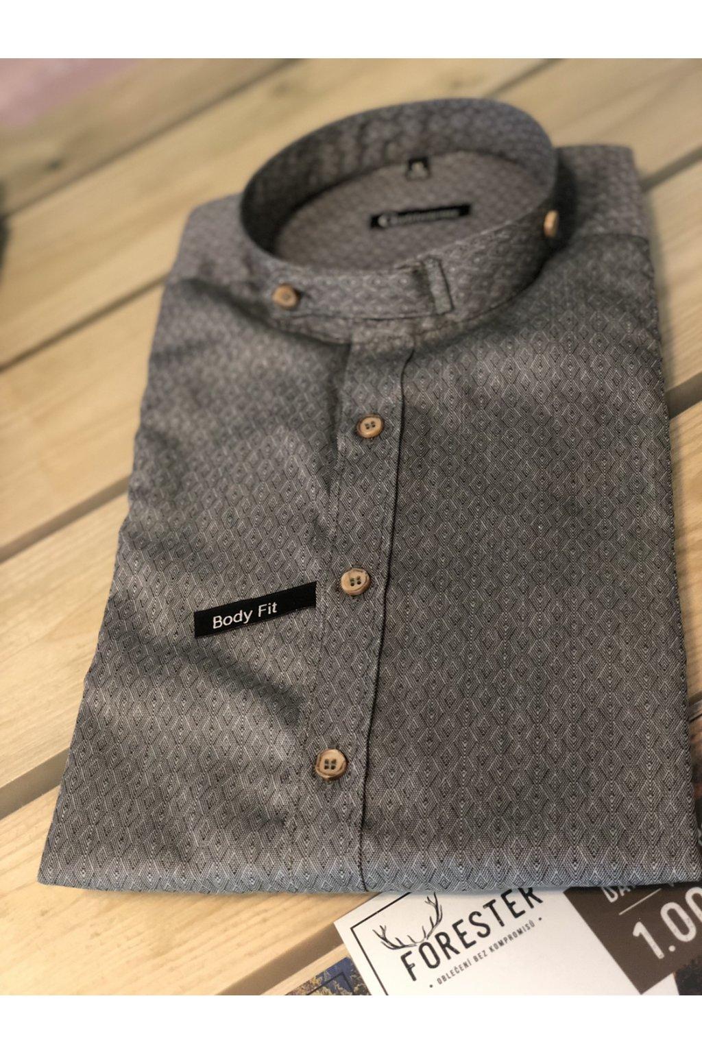 ORBIS - košile pánská Body Fit stojáček