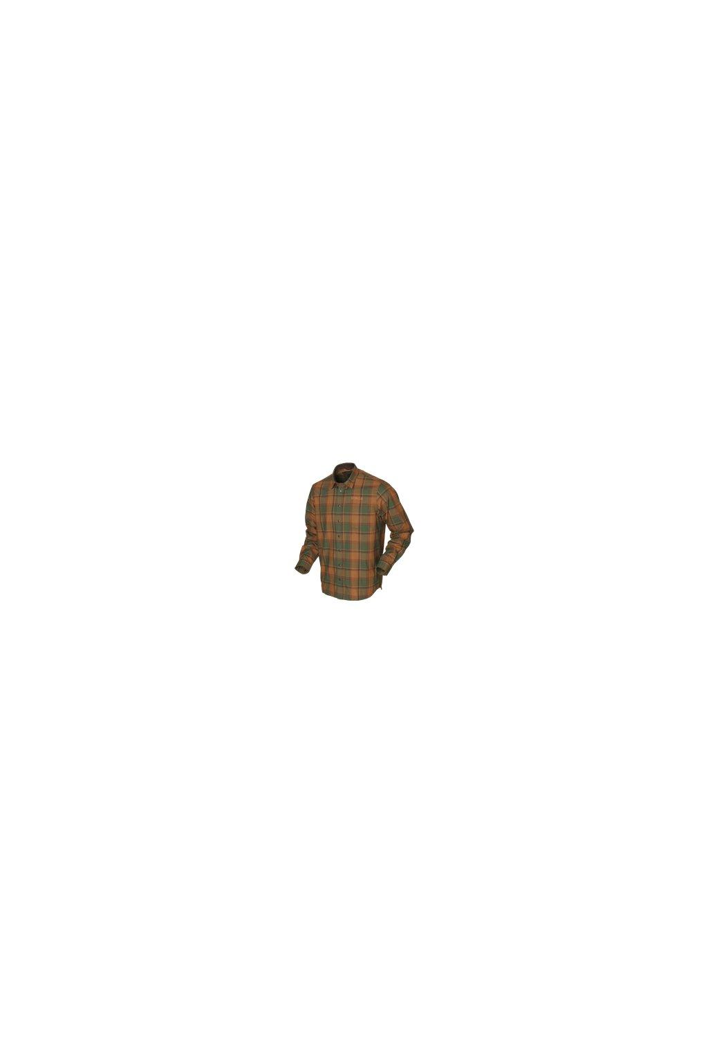 Härkila - Metso košile s dlouhým rukávem Spice check