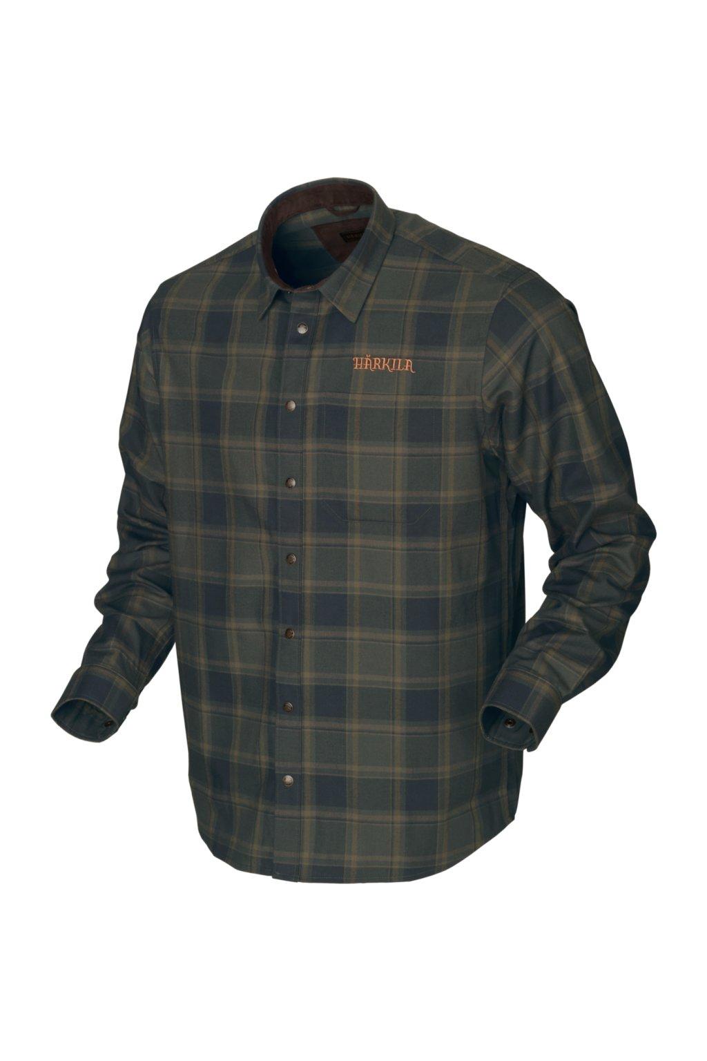 Härkila - Metso Active košile pánská s dlouhým rukávem zelená