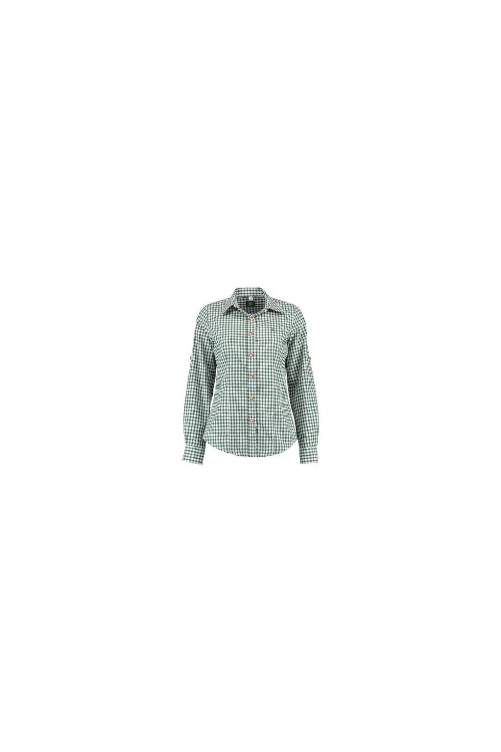 ORBIS - košile dámská zelená zkr. rukáv (2602)