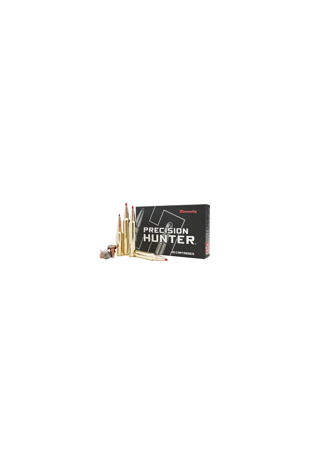 naboj kulovy hornady precision hunter 7mm rem mag 162gr eld x