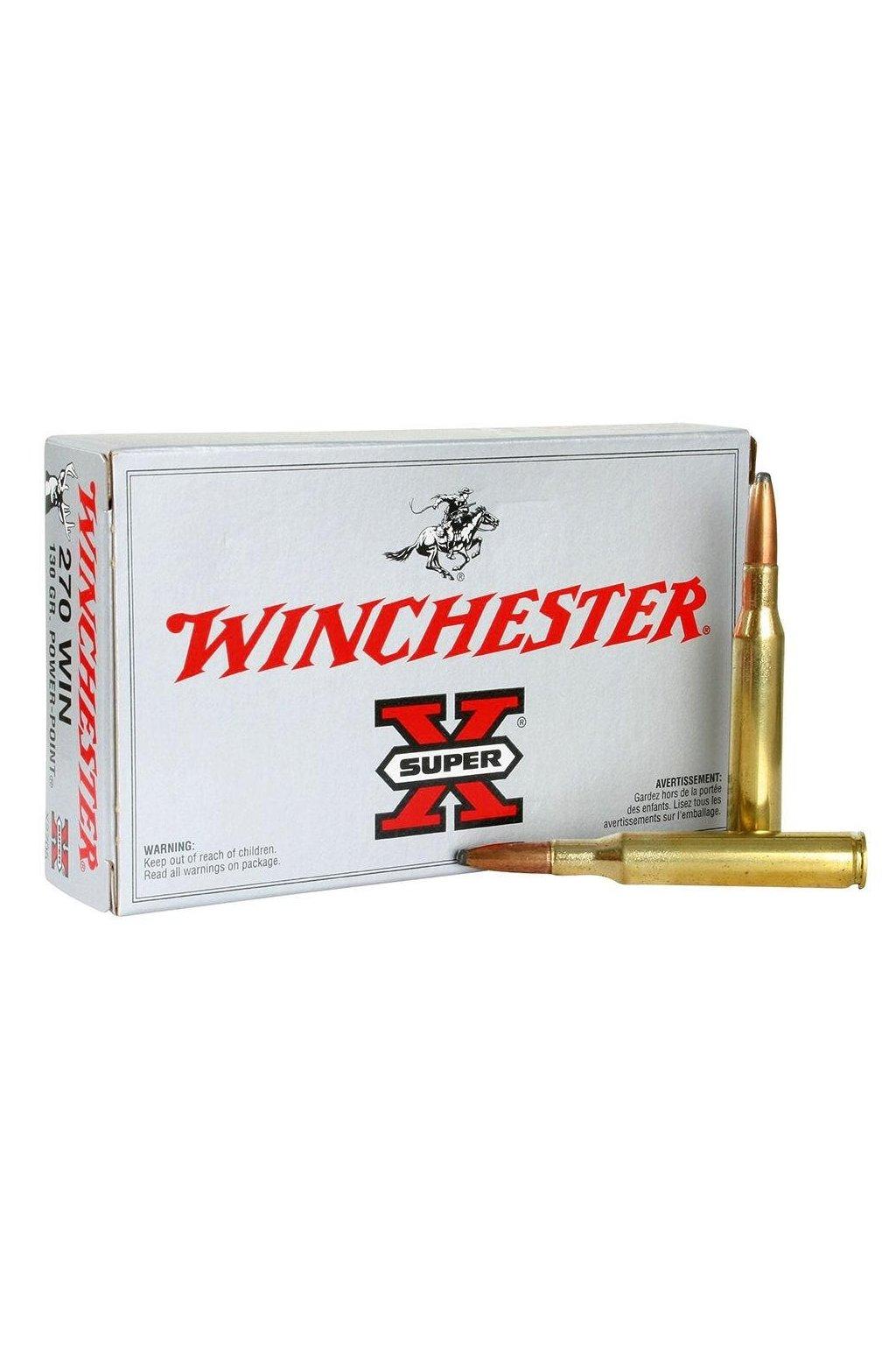 winchester super x 270 win 150grn power point ammunition 20 pack x2704