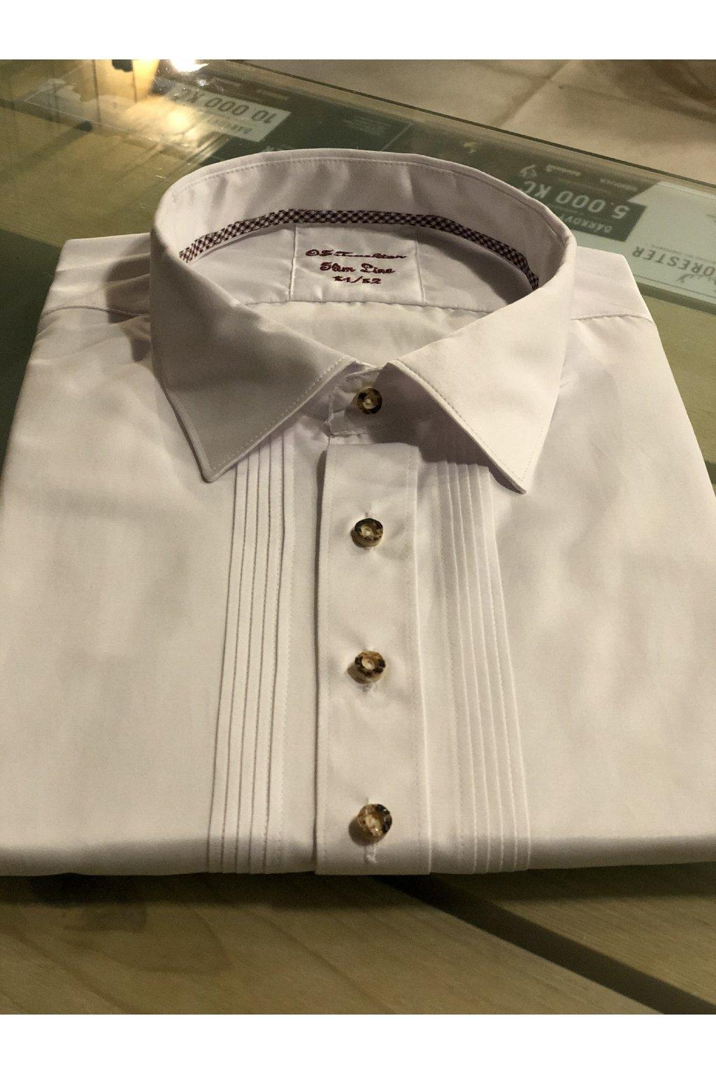 ORBIS - košile pánská bílá 2879