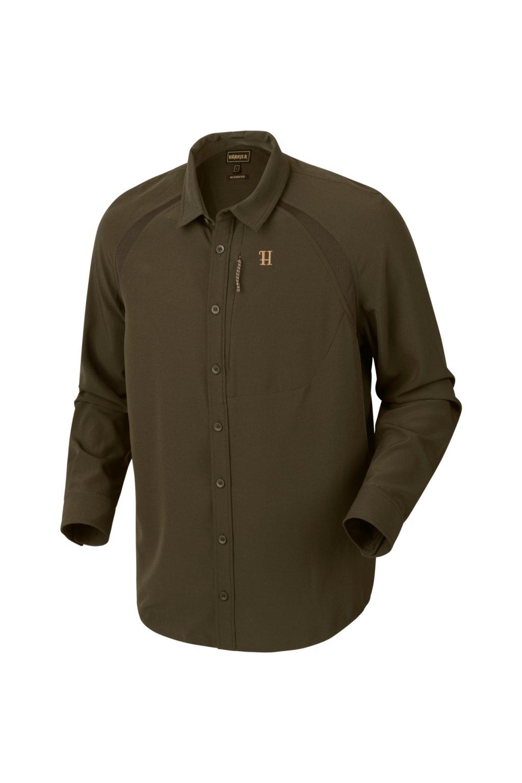 HÄRKILA  - Herlet Tech košile s dlouhým rukávem