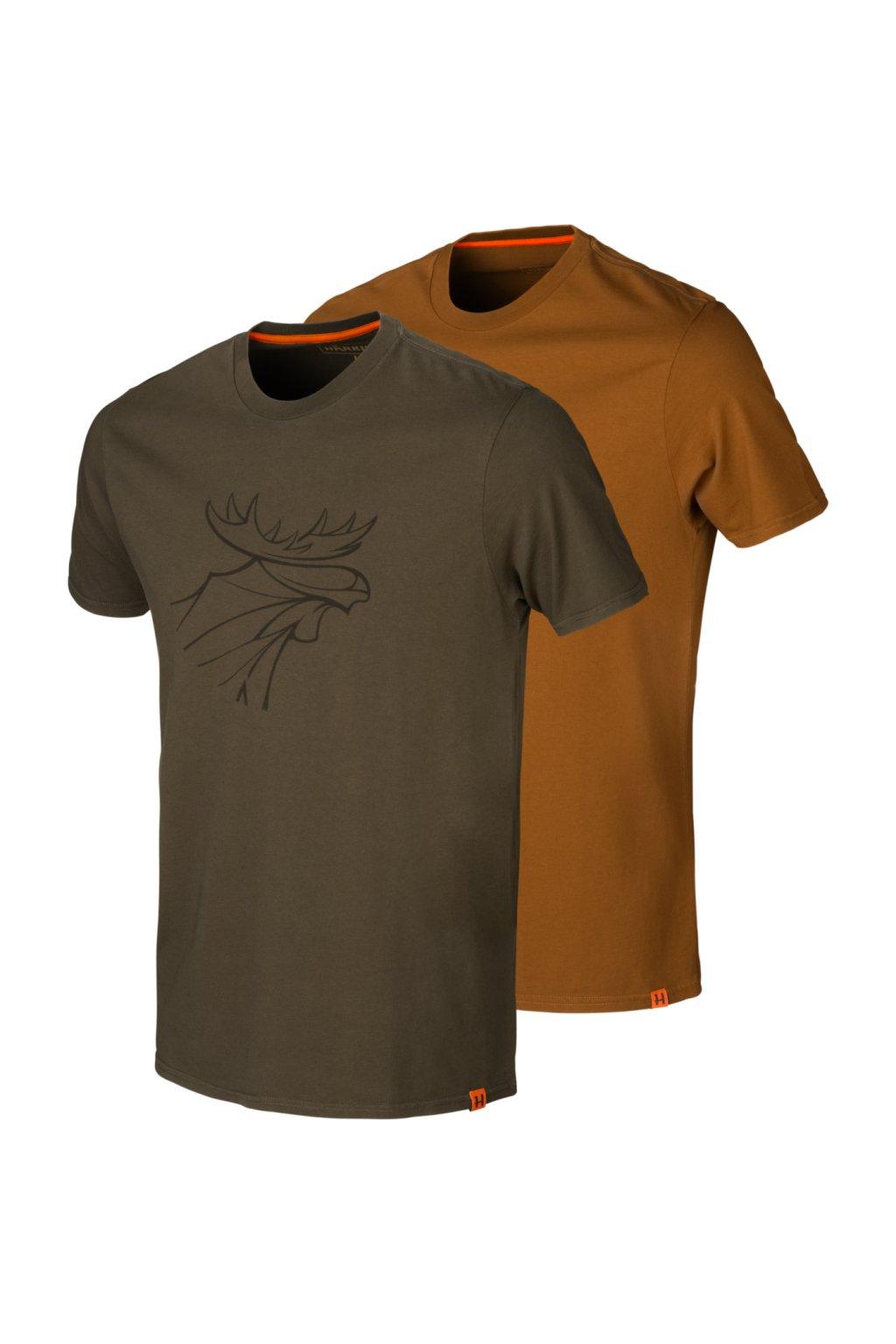 HÄRKILA - 2pack GRAPHIC tričko pánské