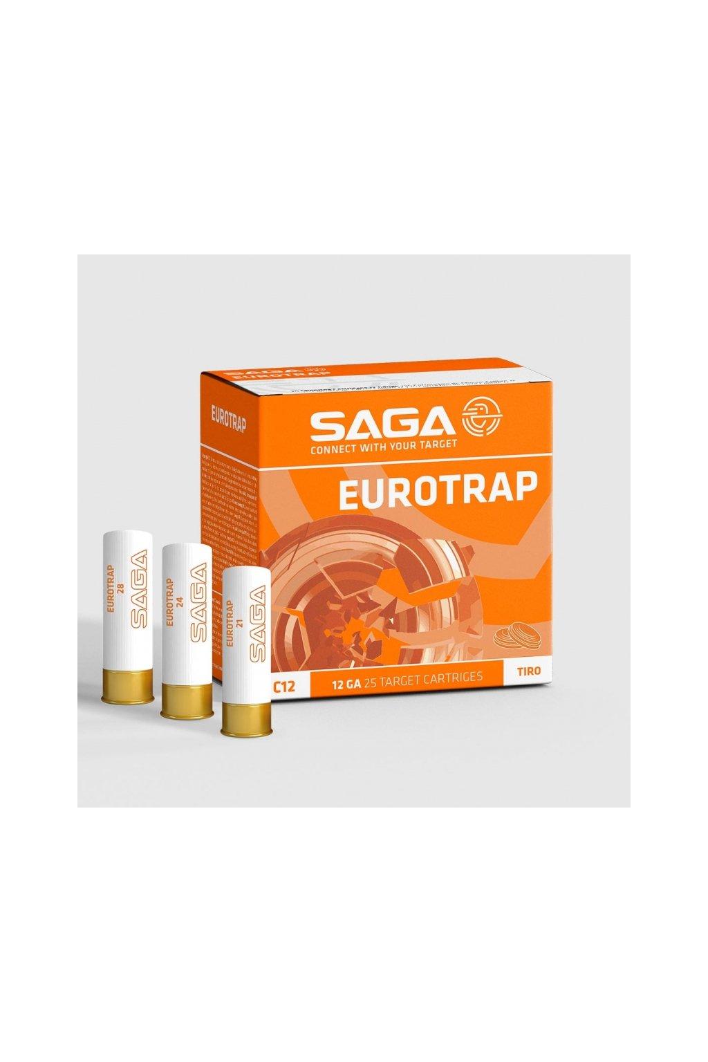 cartucho saga eurotrap 28 gr especial tiro