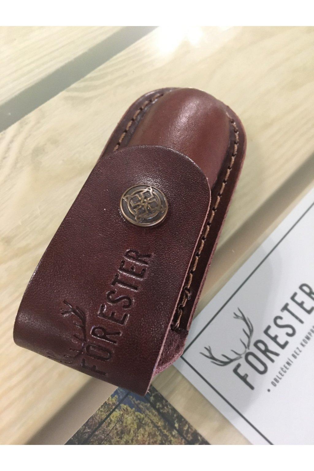 kožené pouzdro na nůž FORESTER 14,15cm