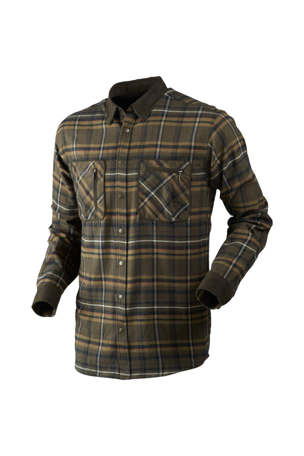 HÄRKILA  - Pajala košile pánská (Willow green check)